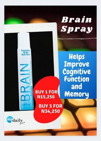 GM Homes Brain Spray